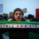 'Humanity, where are you?' protesters ask at rally for Aleppo