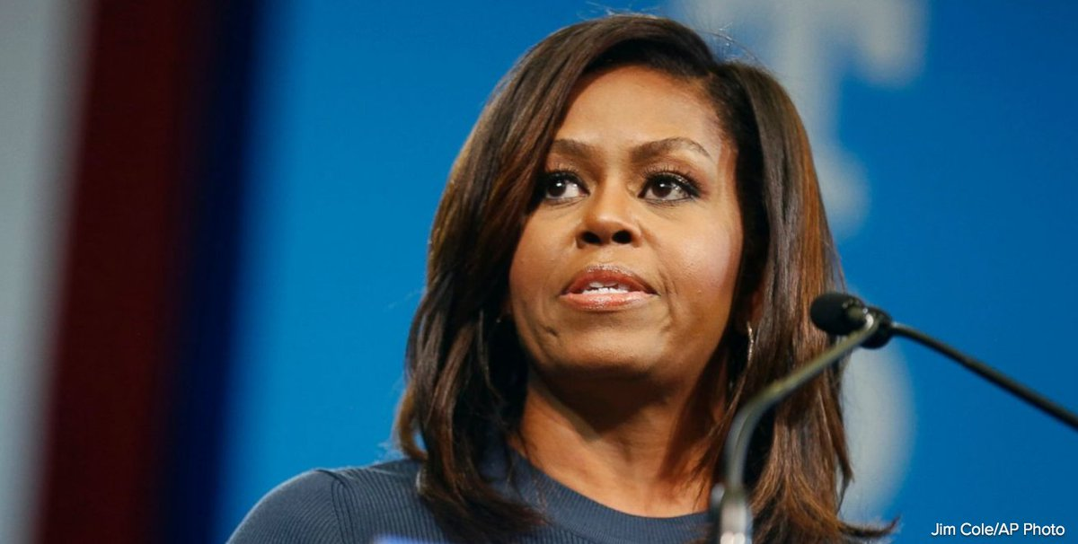 "First Lady Michelle Obama: ""Now we are feeling what not having hope feels like."""