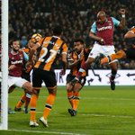 West Ham United award the goalpost man of the match after win over Hull City