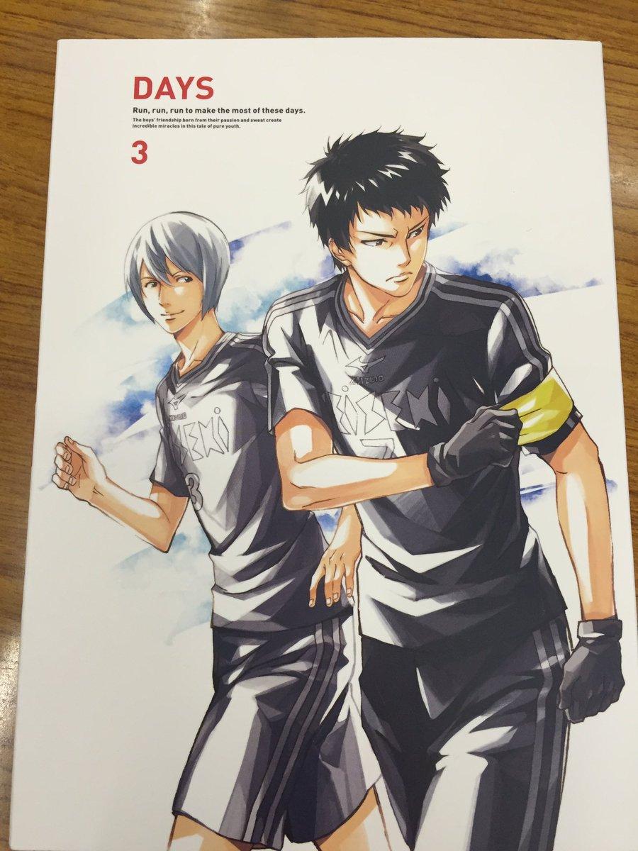 Aパート終了!来週12月21日には3巻の発売ですよー! #days_anime