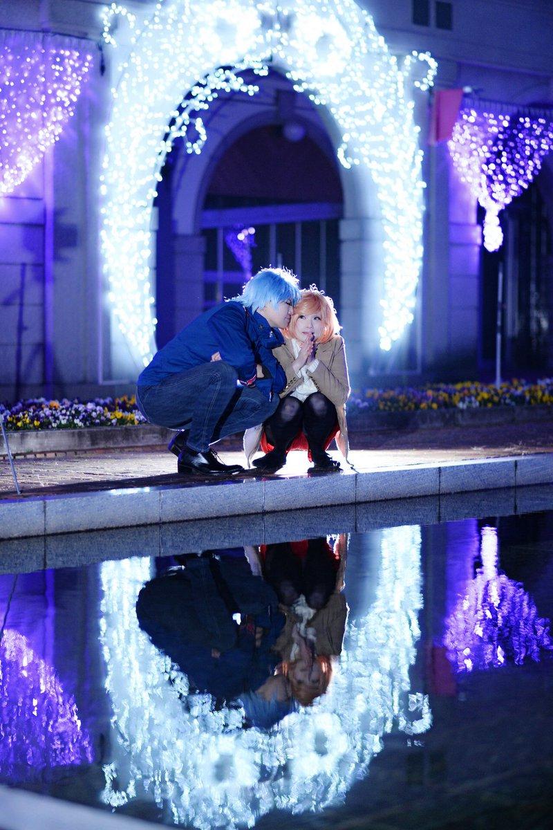 【コス写】「恋せずにはいられない」金色のコルダ4/響かな小日向かなで:舞ちゃん如月響也:aoiphoto:砂糖さん一部私