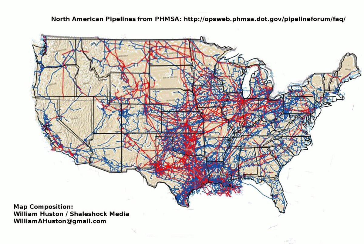 Oil Pipeline Map In Us - Oil pipeline map north america