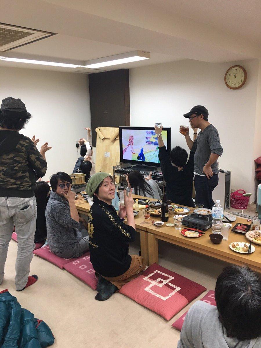 キャスト・スタッフみんなで装神少女まとい視聴会してました!マジで楽しい! #matoi_anime