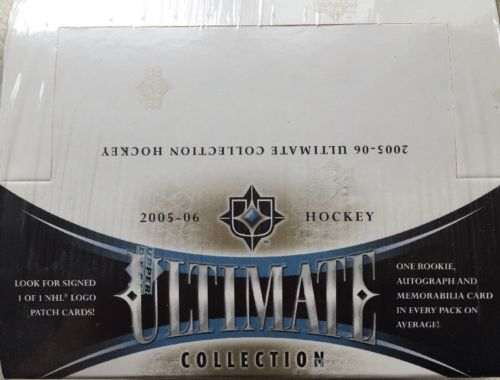 #Sport 2005 06 UPPER DECK ULTIMATE COLLECTION #NHL HOCKEY HOBBY BOX CROSBY ALEX OVECHKIN https://t.co/OAoiEHbdrN #FF https://t.co/yKwxm44TXq