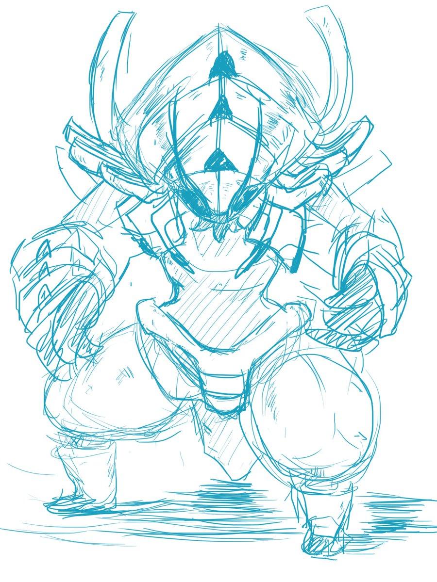 ポケモン描くのなんだかんだ言って好きです。