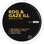 """[JUST IN] RDG & GAZE ILL - Keepin It Real (12"""")   ダブステップ"""