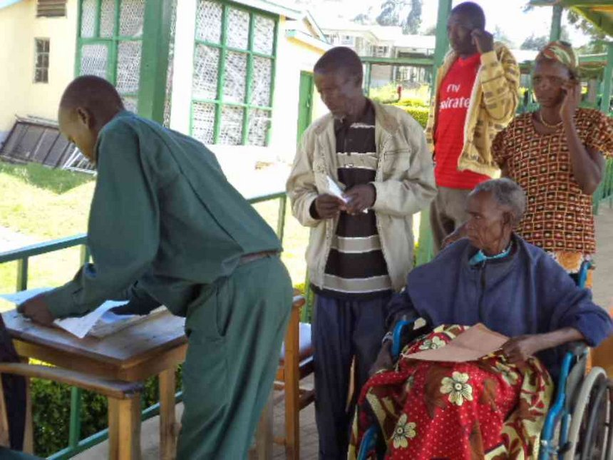 Patients suffer in various hospitals as medics down tools