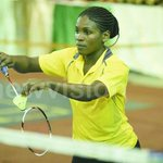 Badminton star Nakiyemba eyes 2018 Olympic games