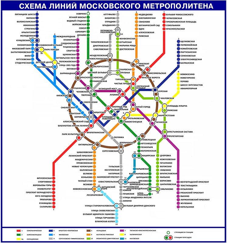скачать схему метро
