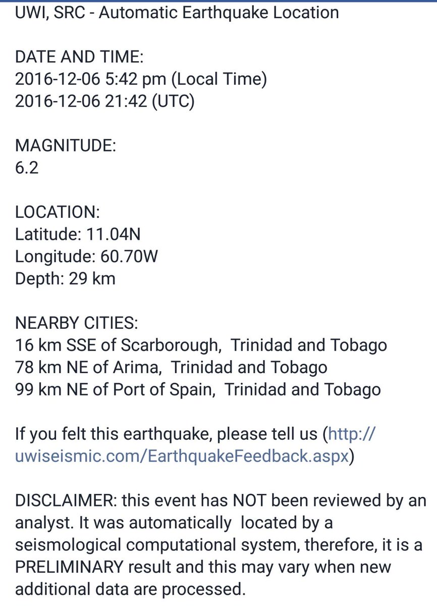 Earthquake was 6.2 https://t.co/3qZGGiRczf