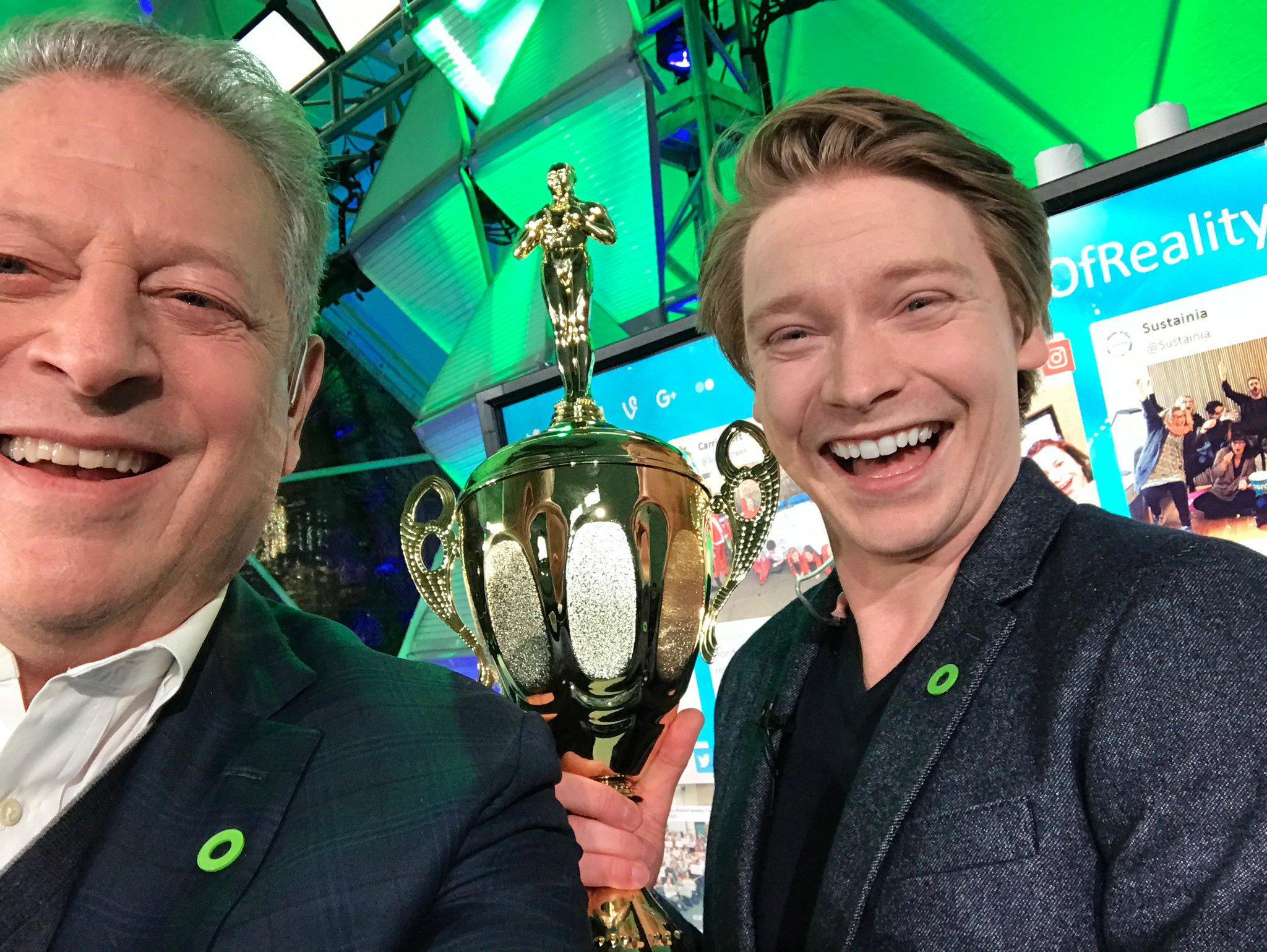 Thanks, @CalumWorthy, for joining us at #24HoursOfReality and being an excellent climate leader! https://t.co/aqey8oWSyj