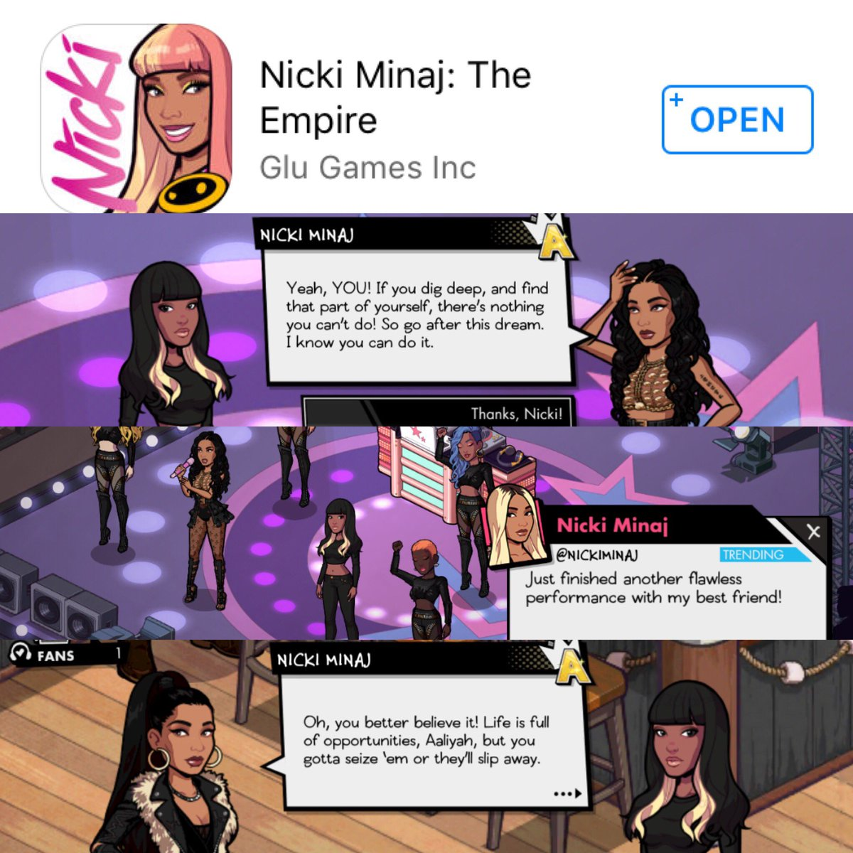 RT @liyahhun: @NICKIMINAJ you're my best friend/big sis in my head ok???????? and in the game #NickiMinajTheEmpire https://t.co/NZq8aQWRJw