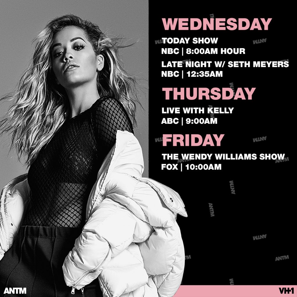 Here we go! This week's about to be wild!! ???????????????? @ANTMVH1 https://t.co/hLjWOAbjlW