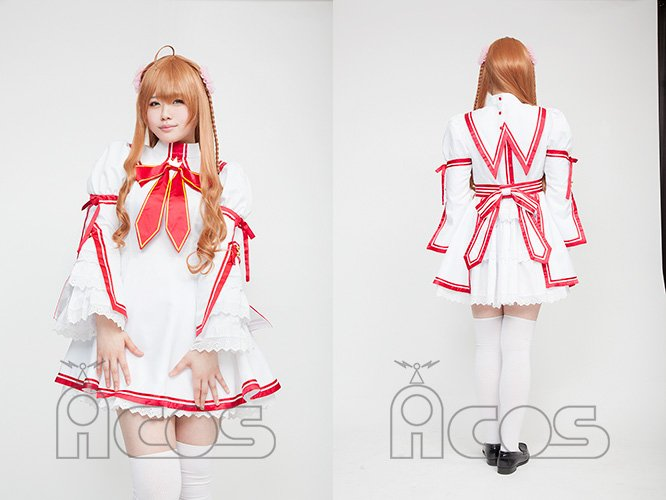 【Rewrite(リライト)】風祭学院高校制服(女子)が久し振りの再販!モデルさんに着用頂いた写真が届いたのでお披露目で