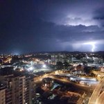 Brisbane storm: Bureau of Meteorology warns more on the way after early morning light show