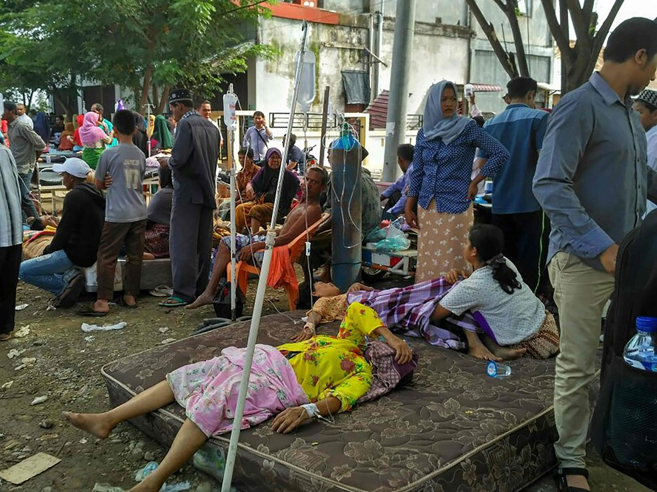 Strong undersea 6.5 magnitude earthquake hits Indonesia, killing more than 50 people