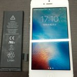修理速報更新しました!iPhone5バッテリー交換の修理依頼です!スマホスピタル岐阜 TEL:058-214-8185#