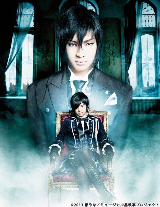 【速報!】来年1月にミュージカル「#黒執事」2作品がTBSチャンネル2で放送決定しました^^2013年上演「千の魂と堕ち