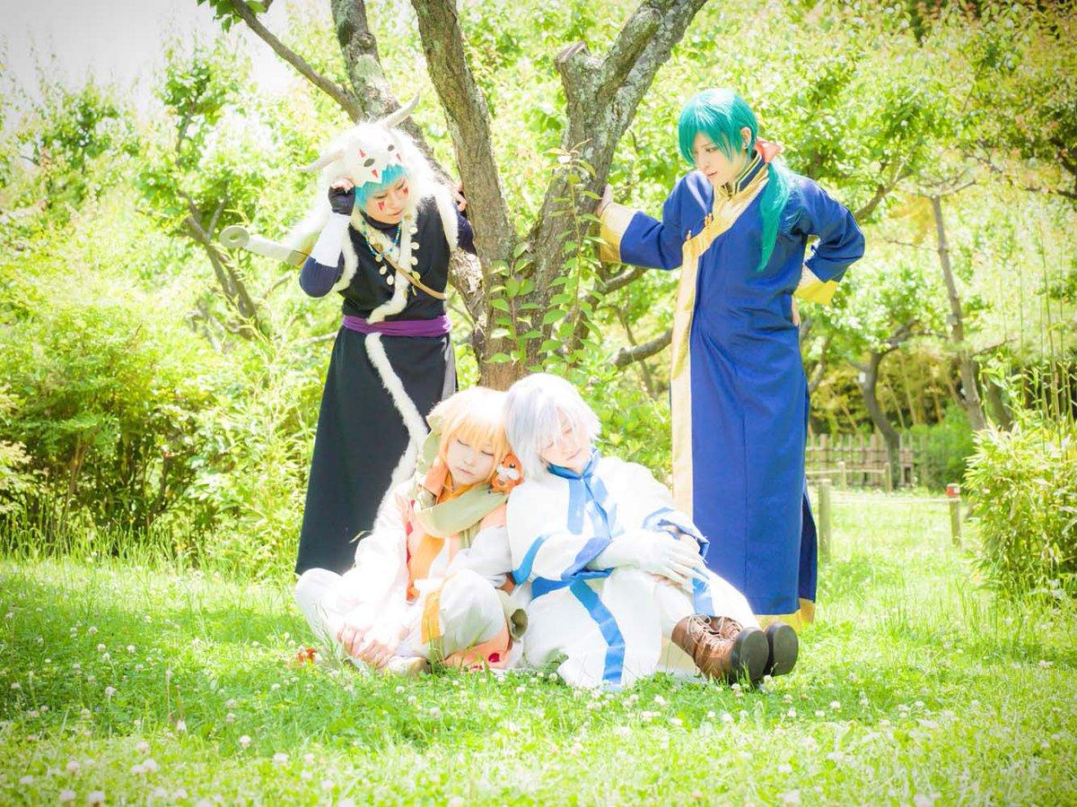 【6月前半】・暁のヨナ・忍たま・ズートピア・オリジナルRPGなんか、新緑の季節って感じにどれも緑だ…w四龍皆揃ったの嬉