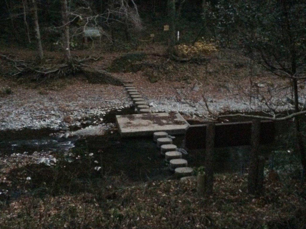 #アニメ #ヤマノススメ に登場した、飯能市 吾妻峡のドレミファ橋
