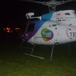 Tauranga helicopter rescues 13-year-old burns victim