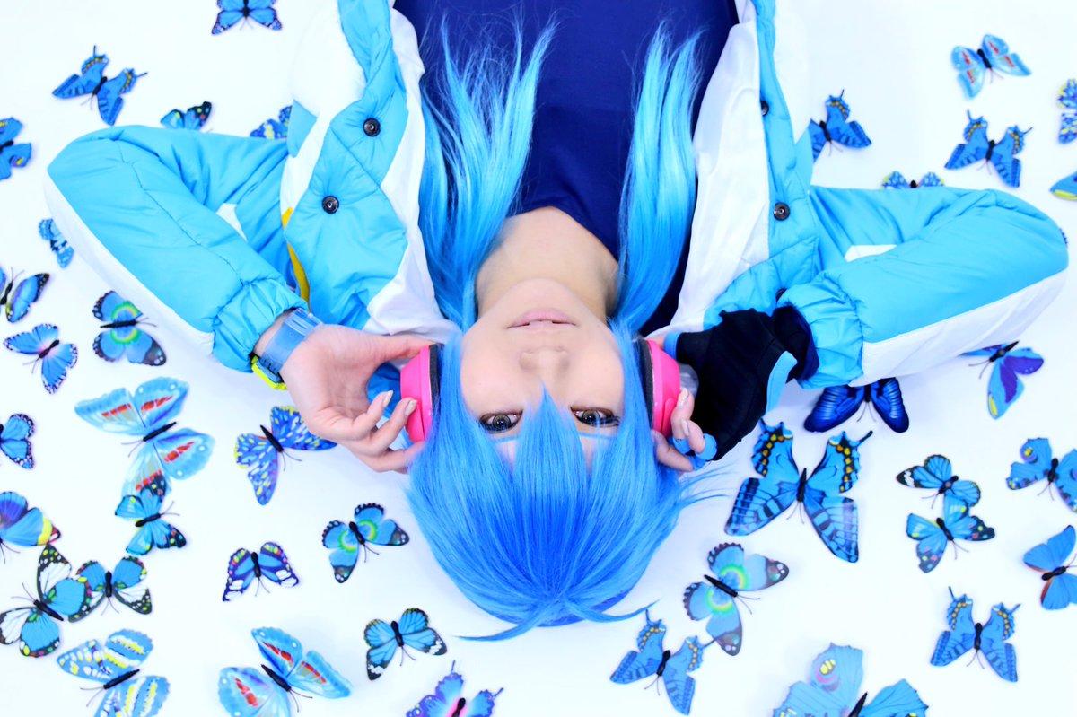 速報 その3青い蝶を使ってみたよDRAMAtical Murder蒼葉ちゃんくまこさん#しぃ撮影
