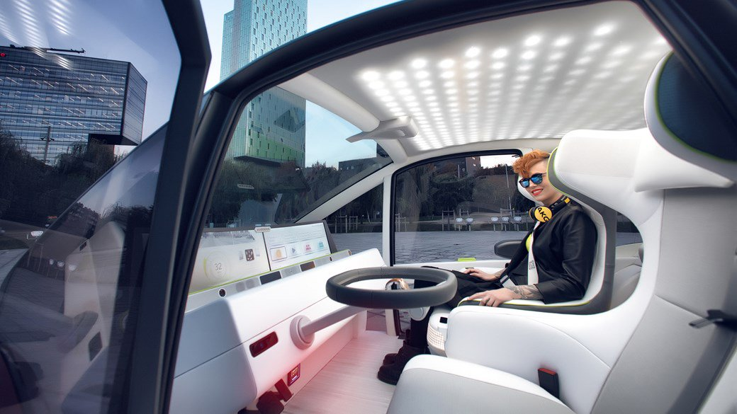Rinspeed Oasis concept: a 'garden plot on wheels' for CES 2017