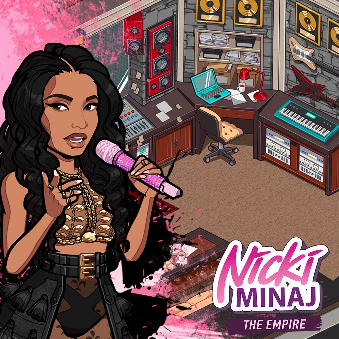 WE'RE PLAYING WORLDWIDE!!! Everybody go download my new app #NickiMinajTheEmpire https://t.co/Z03jTGZH7i https://t.co/HDbBTUTePl