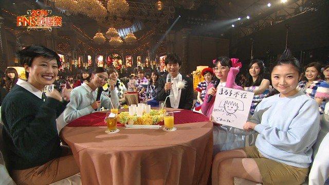 【ももクロ】『出番後はお茶の間で鑑賞イメージ!?ちびまる子ちゃんコスプレwww』12/7(水)CX「FNS歌謡祭2016