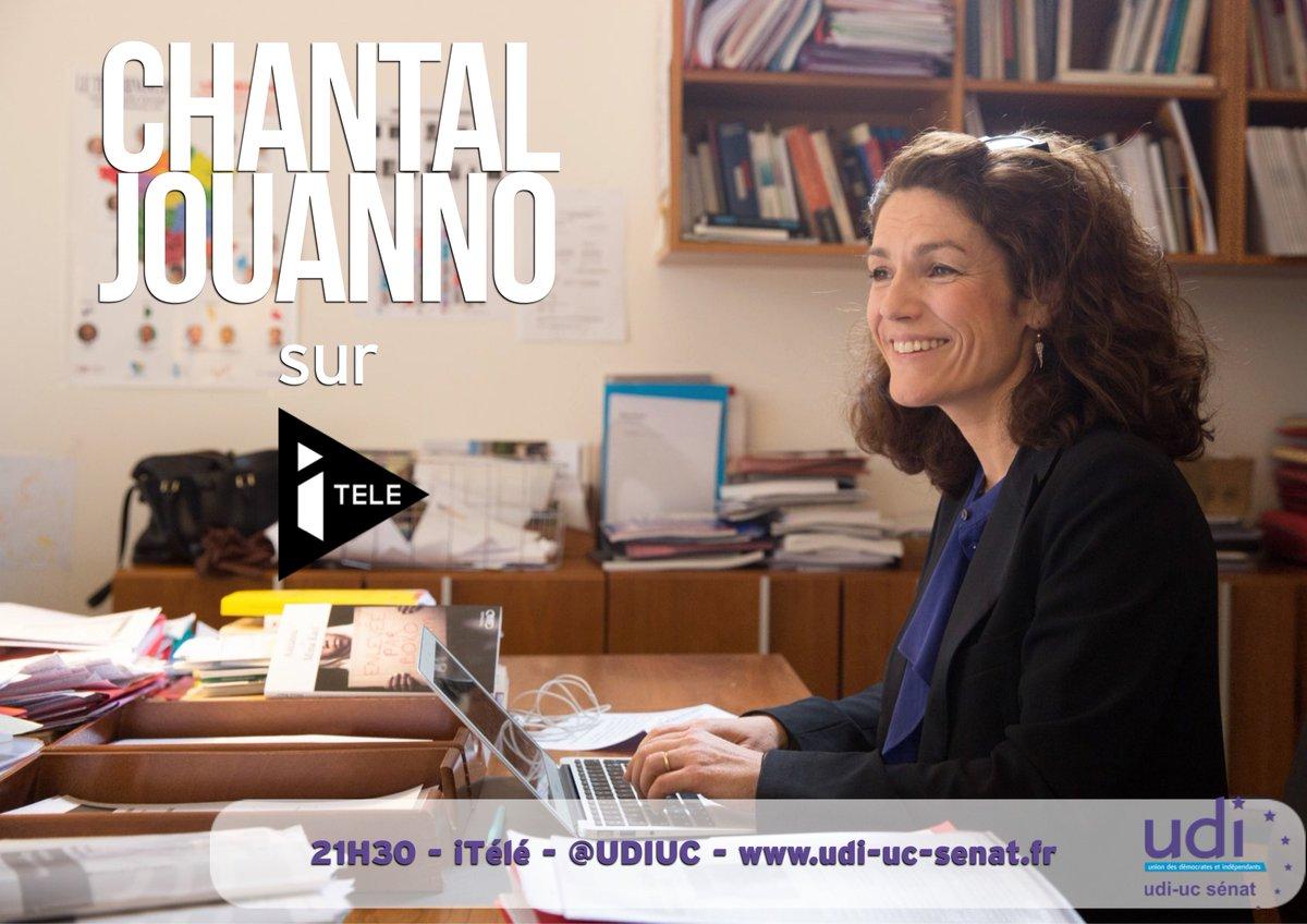 La sénatrice @Chantal_Jouanno sera ce soir à 21h30 sur @itele