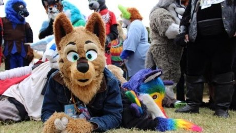 Researcher says furries, people who dress like animals, offer important support system https://t.co/aLG0lvvWD8 https://t.co/9OKoW6Pmm9