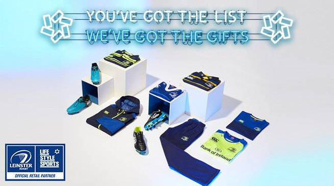 No Christmas is complete without a touch of #LeinsterBlue. You've got the list, we've got the gifts #LSSGifting https://t.co/isjTNSgDz3