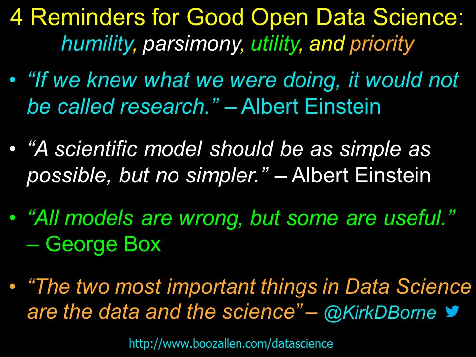 "Kirk Borne – ""2 Most Important Things in Data Science"""