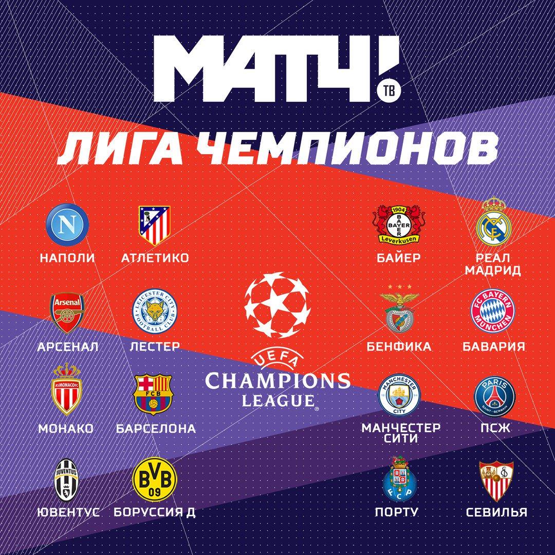 Жеребьёвка лиги чемпионов 2018 дата