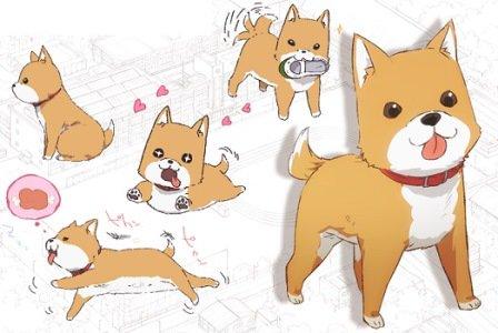 アニメ「がっこうぐらし」に出てきた犬←アニメ今回の募集コス→