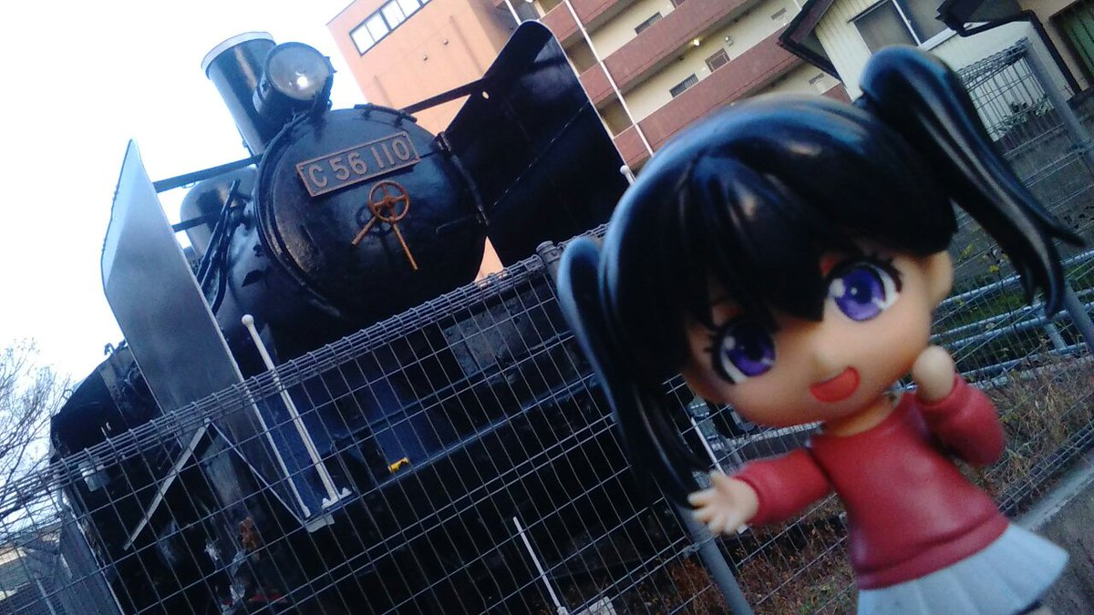 あおいあおい~、草加の街にSLがあったよ~♪:  #yamanosusume #埼玉聖地横断ラリー