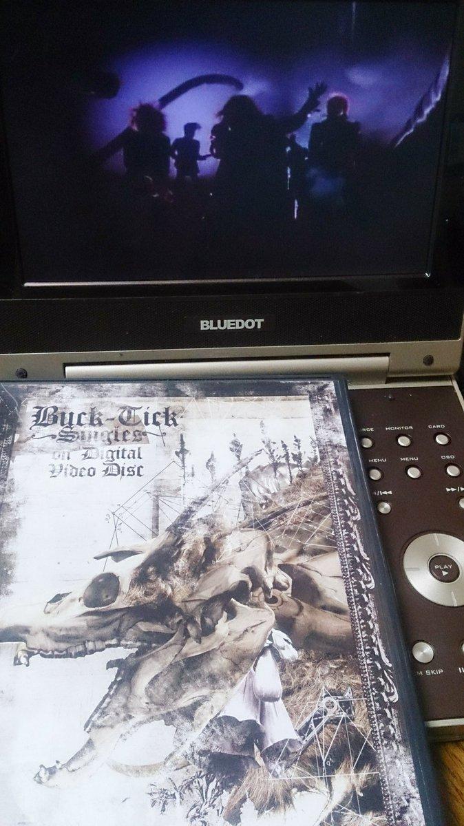プラモ作りのお供にBUCK-TICKのMV集DVD見てる☆「悪の華」のクリップは音源が初期バージョンで演奏はアレだけど勢