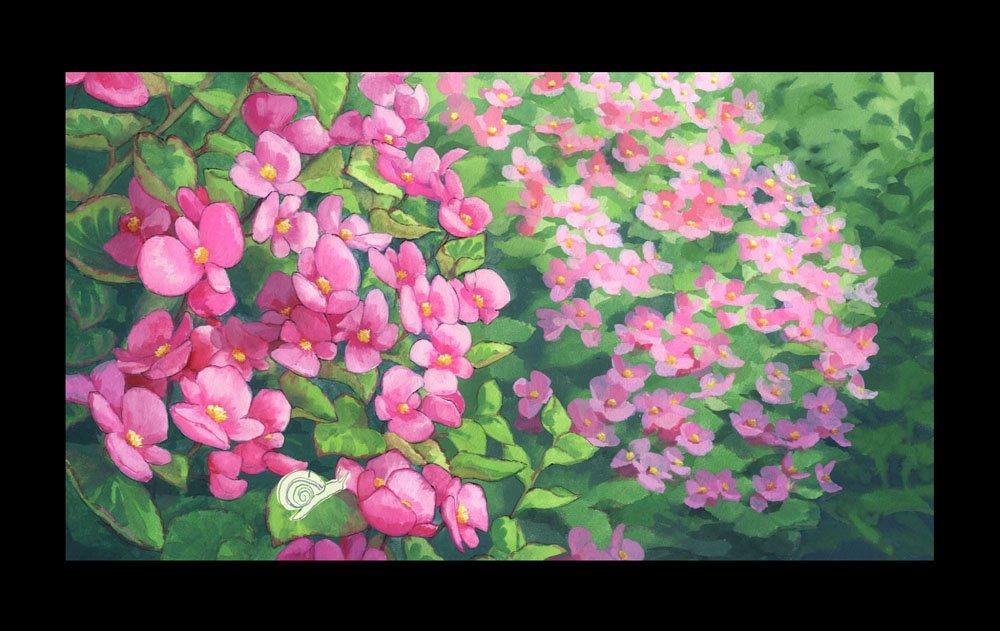 10話放送直前ですがフリフラ9話美術のご紹介を・・・!(^^)ココナとヤヤカとの想い出シーンは暖かい雰囲気をだせるように