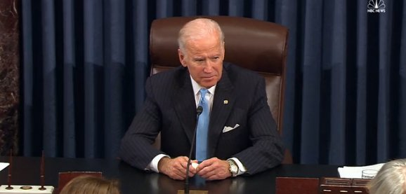 Senate celebrates 'friend' Joe Biden and pays tribute to his 44-Year career