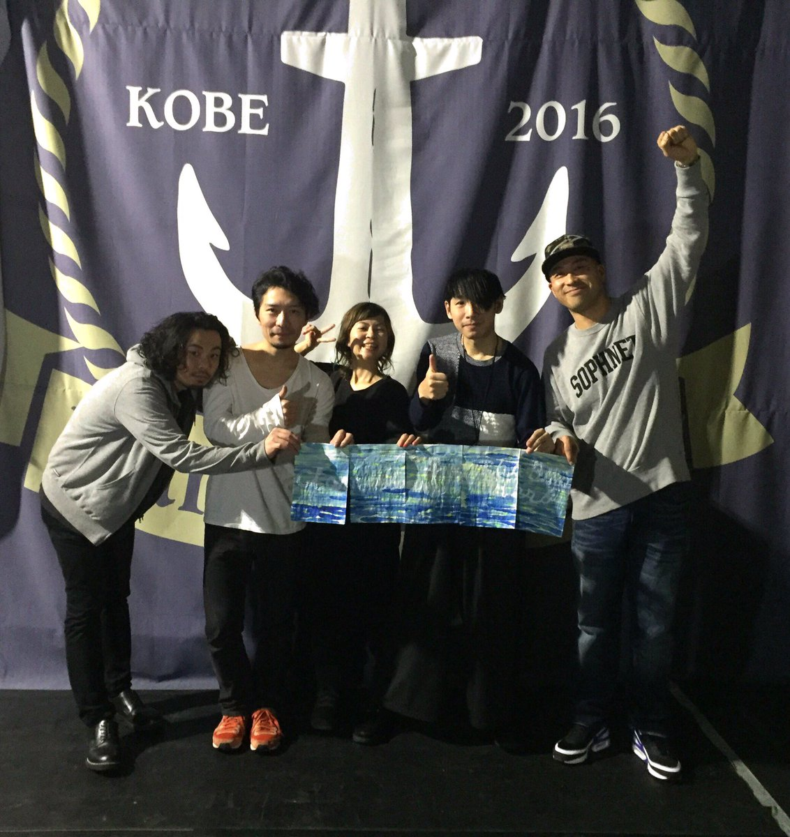 clammbon x THA BLUE HERB in 神戸 https://t.co/PjiJW0epvo