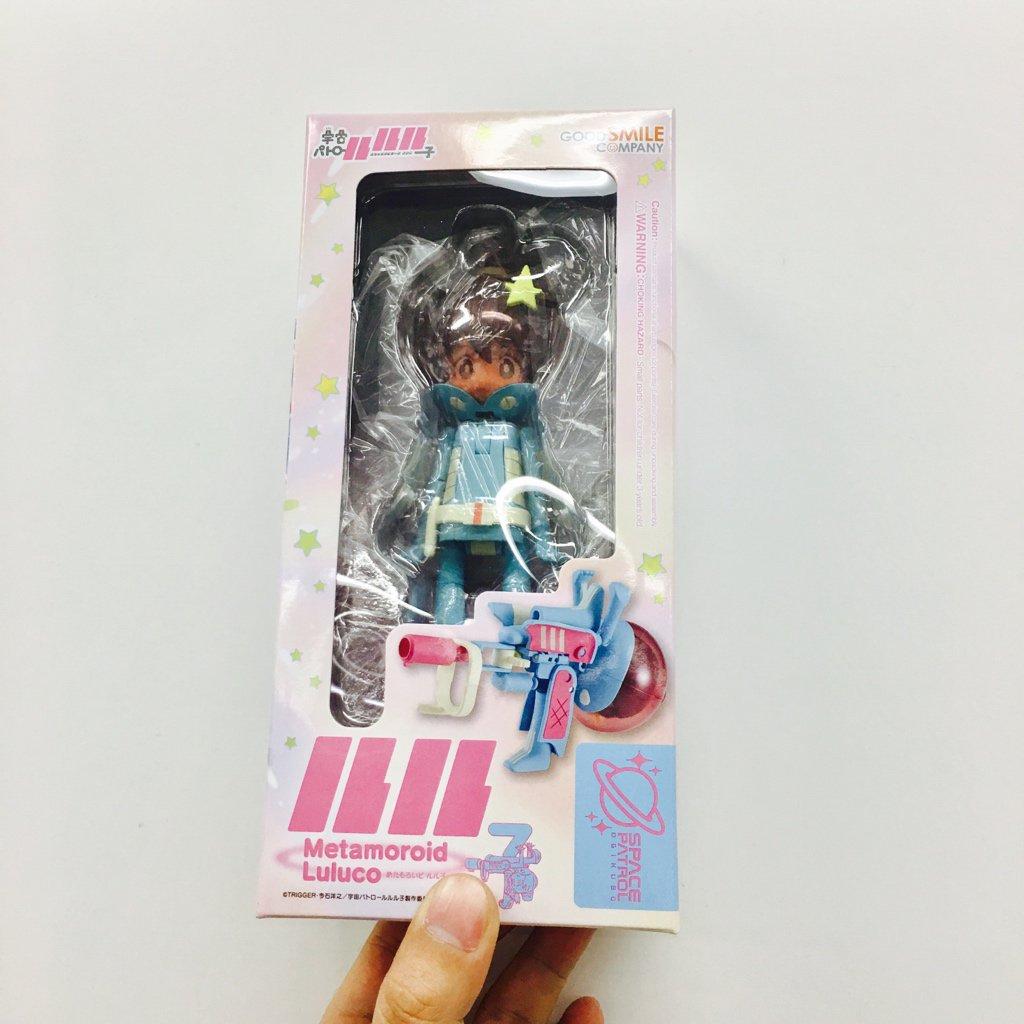「めたもろいど宇宙パトロールルル子」こちらのパッケージが目印です。12/31発売! #luluco