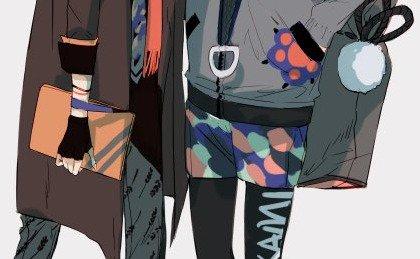 【刀剣乱舞】加州清光と大和守安定の現代私服 #刀剣乱舞 #とうらぶ