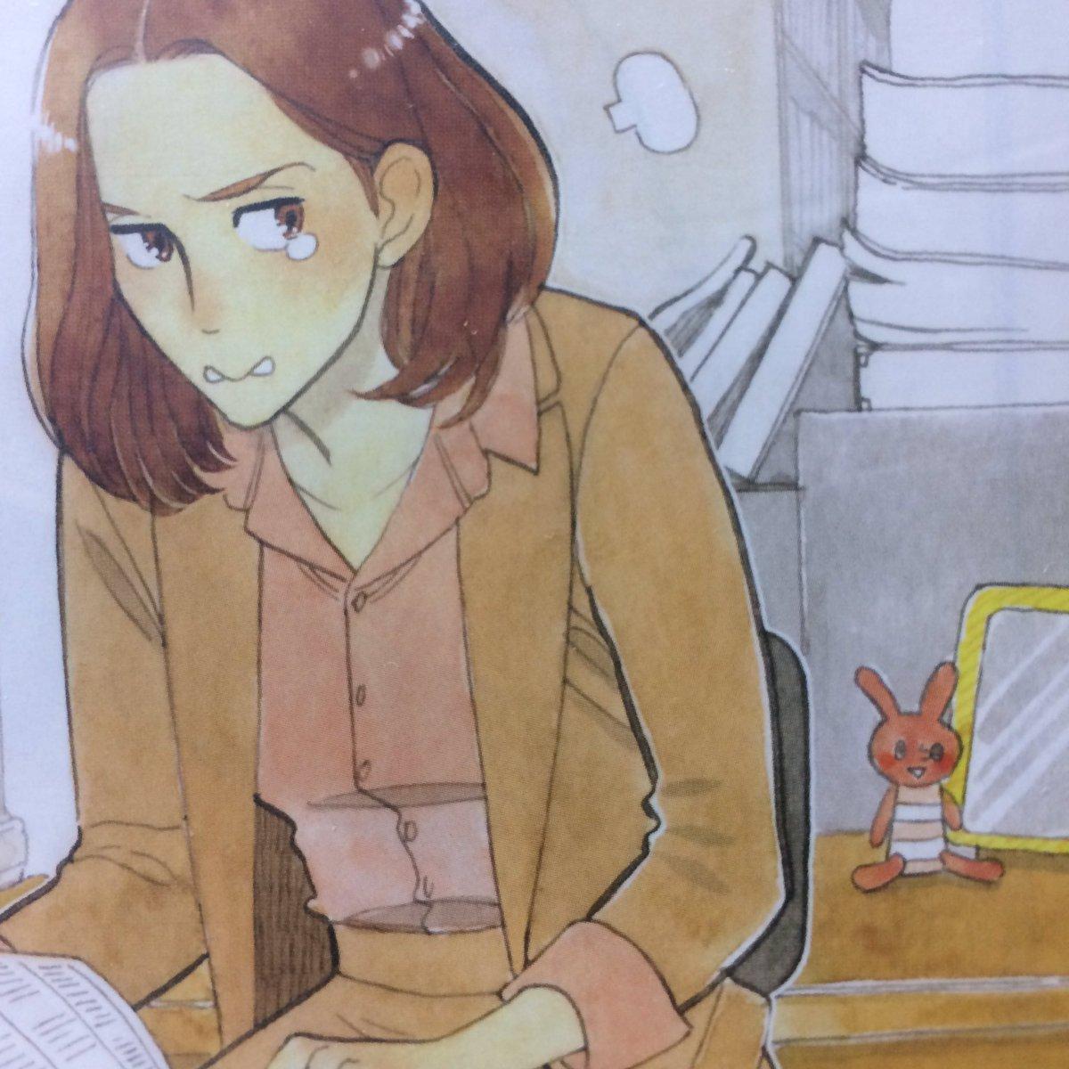 みどりちゃんが愛用してるうさぎのマスコット、実は小説の挿絵でも何度か出てきてまして、なんとそれをアニメでも使ってくださっ