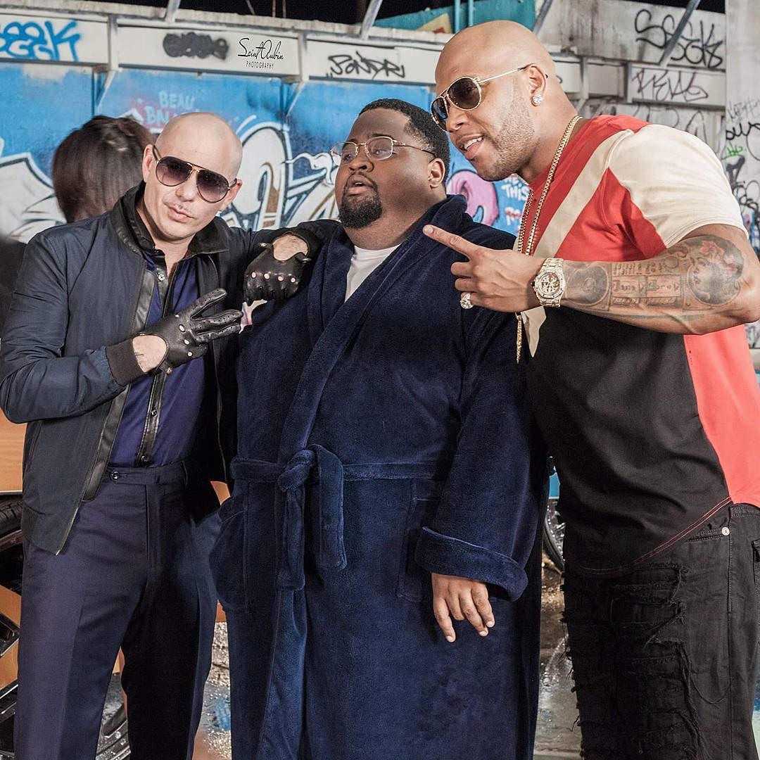 #TBT Show us those moves @official_flo @LunchMoneyLewis #Greenlight #MrWorldwide https://t.co/I1UquDekeg