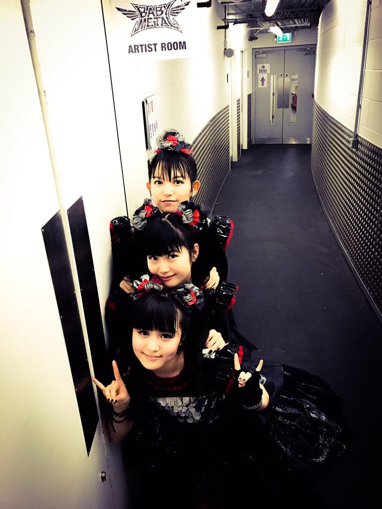 Thank you @TheSSEHydro @ChiliPeppers! See U next time! #Glasgow #UK #chilipeppers #BABYMETAL http...