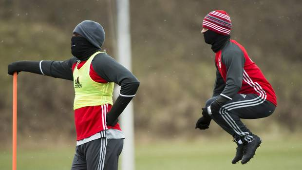 Toronto FC, ready for battle, hope for winning weather Saturday From @Globe_Sports