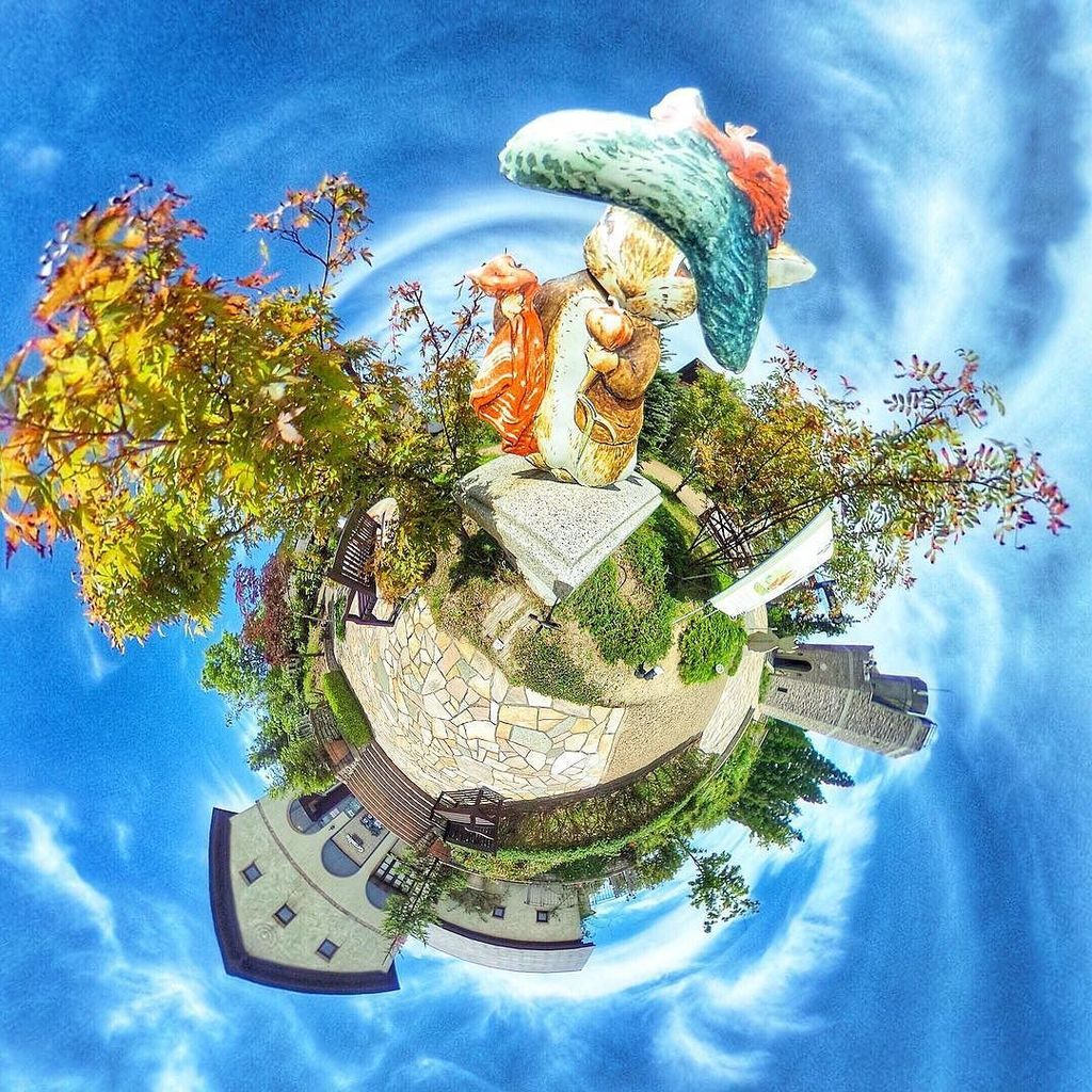 メルヘンワールド#メルヘン #fairytail #JHP光のある世界 #WHPfreetime#THETA写真集#TH