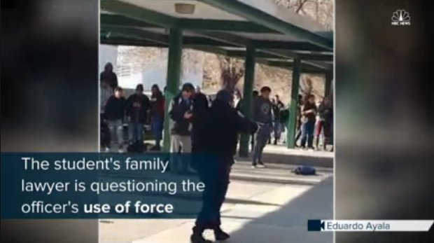 Video shows officer shoot student at Reno high school