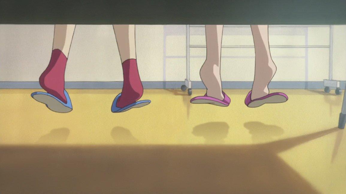 フリップフラッパーズ #9 回想上手い足のところ 谷口俊一郎さん?