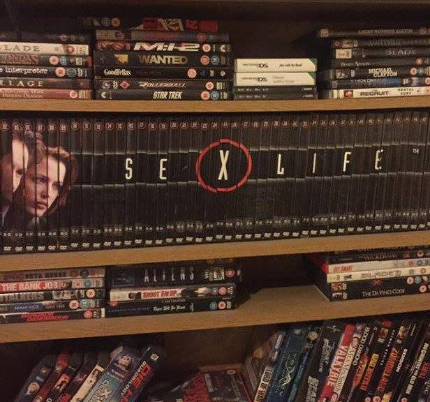 Just re-arranged my friend's DVD collection. How long before he notices? https://t.co/ikLrzDERLB